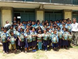 Project Sathi Nepal van Marjo Jenniskens goede doel 2012